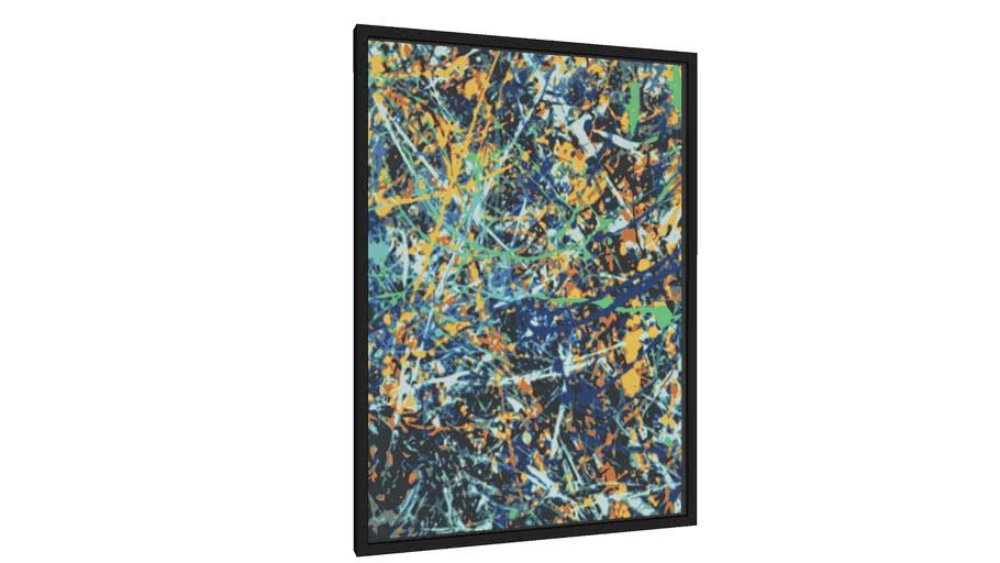 Quadro Composição Abstrata 707 - Galeria9, por Estevez