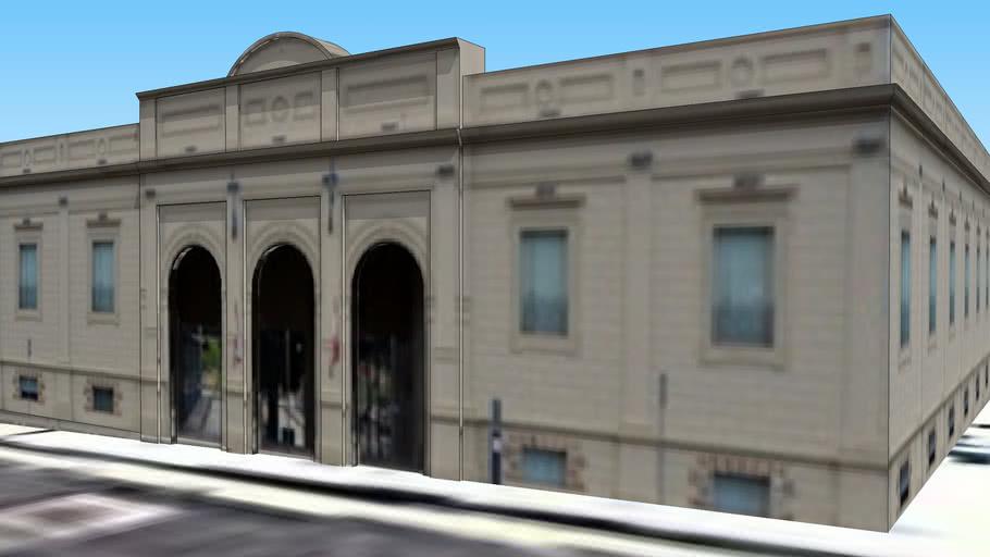 Palacio Municipal (Ex Estación de Trenes FCGB)