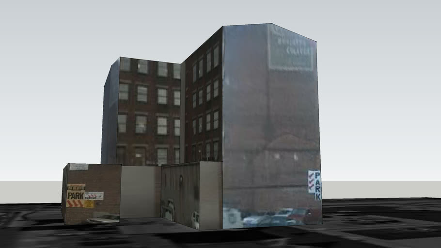 Building on Halsey Street, Newark