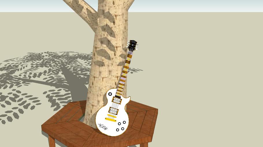 AJR's custom Gibson les paul