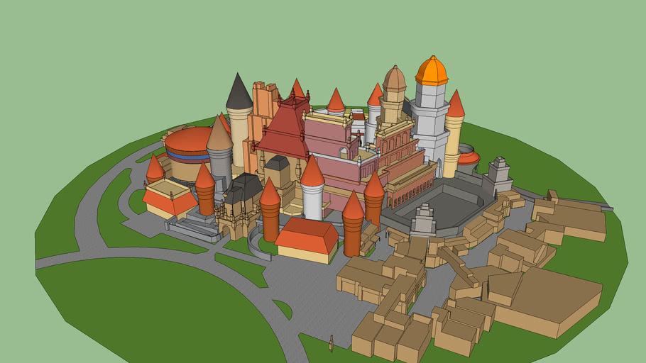 Castle Bigly, imaginaria