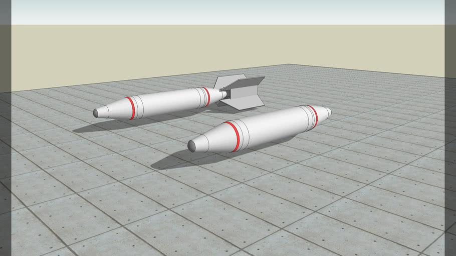 BLU-1(napalm)vietnam + tail fin assembly
