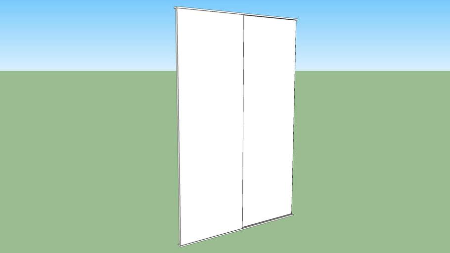 IKEA FONNES slide door 180x120