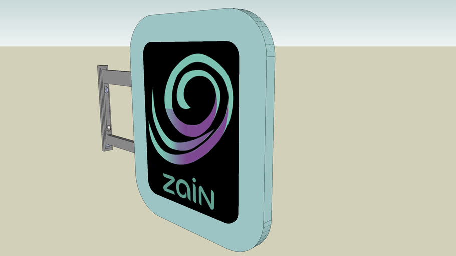 zain telecom Co. banner