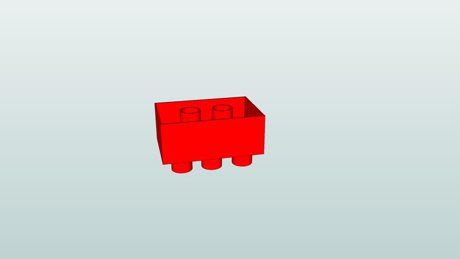 lego 3x2 ou 3*2