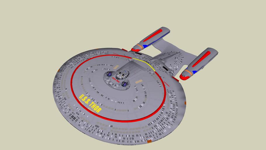 U.S.S. Thor  - Galaxy refit class explorer