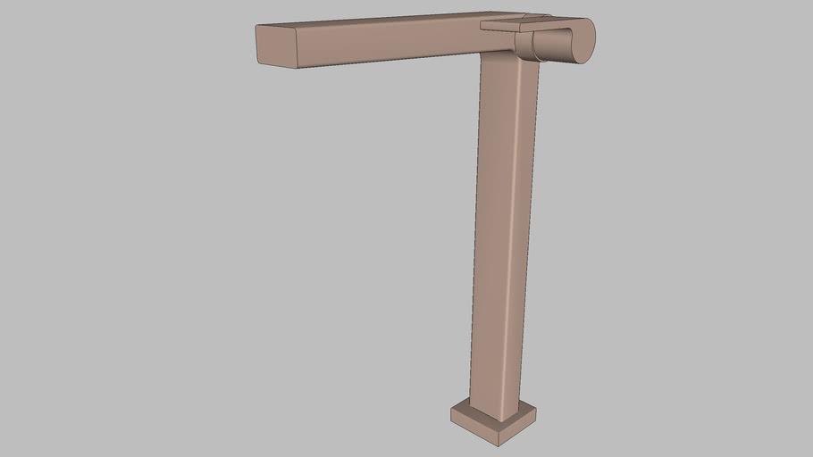 DOCOL - Torneira para banheiro bica alta 90° Docol Stillo cobre escovado 824869