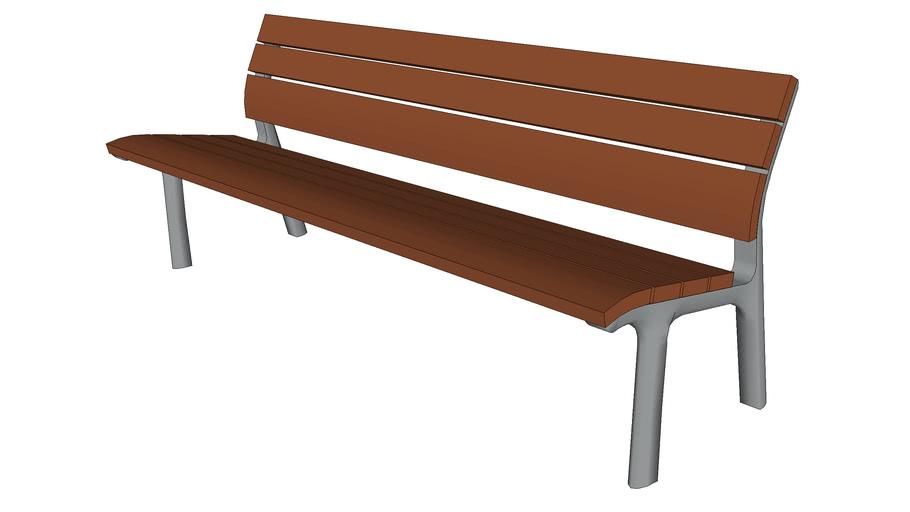 """Neoromantico 69"""" Bench"""