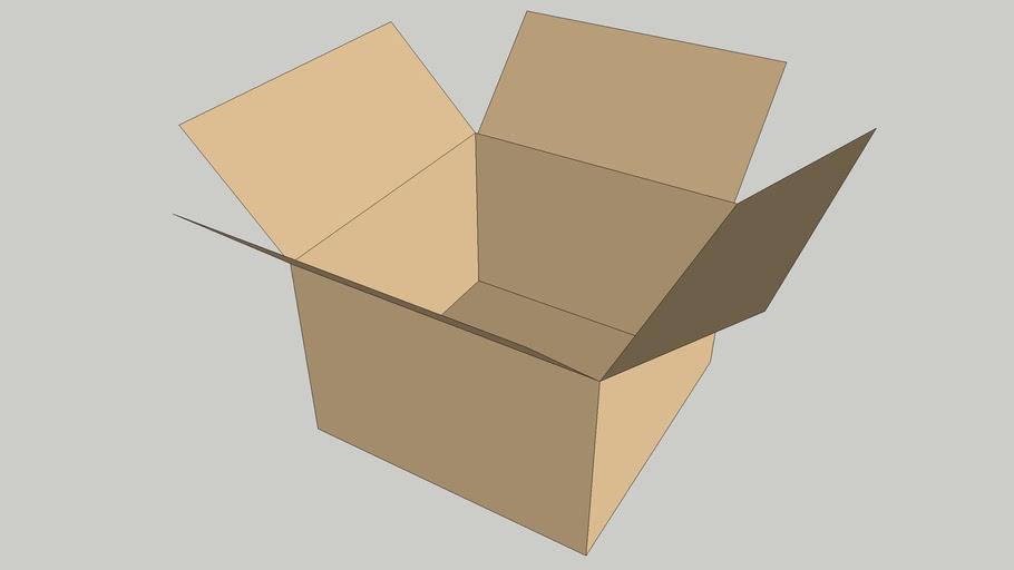 My cardboard box