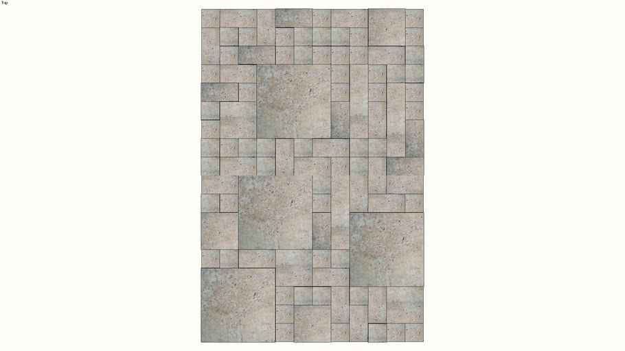 mosaico etrusco branco