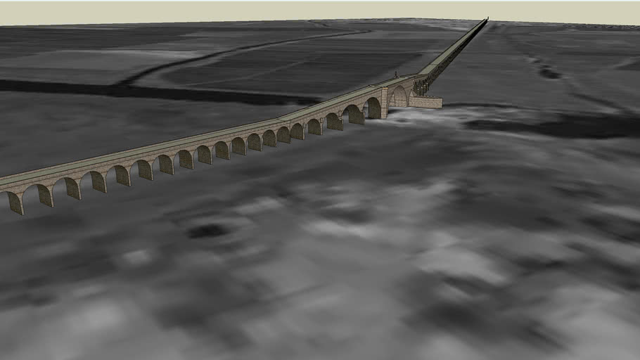 EDİRNE UZUNKÖPRÜ-SULTAN II. MURAT KÖPRÜSÜ world's longest stone bridge