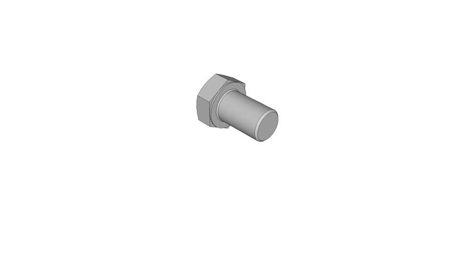 02120522 Hexagon head screws with metric fine pitch thread DIN 961 M16x1.5x25