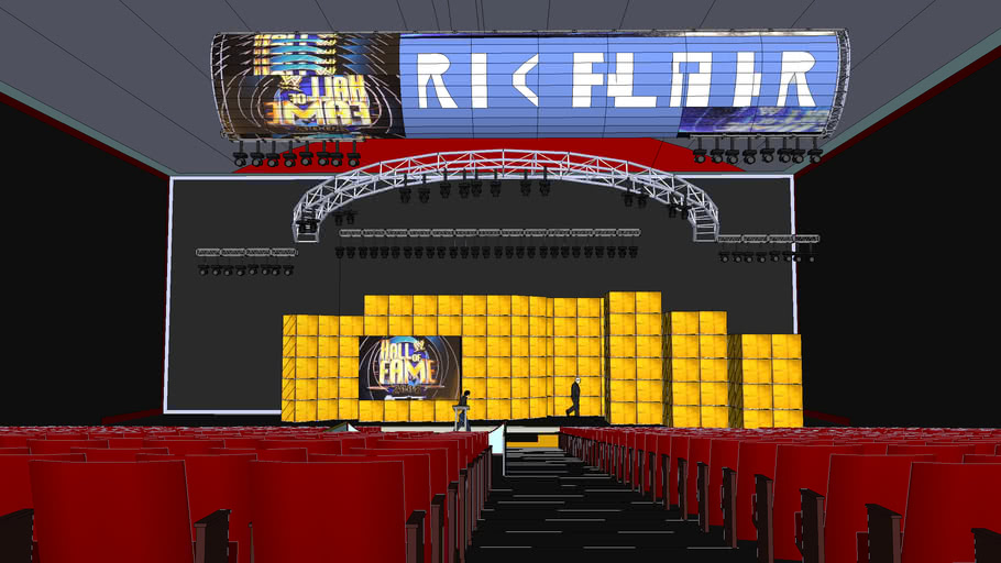WWE Hall Of Fame 2008 Stage Setting