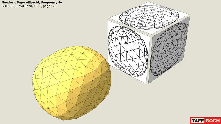 Geodesic Superellipsoid