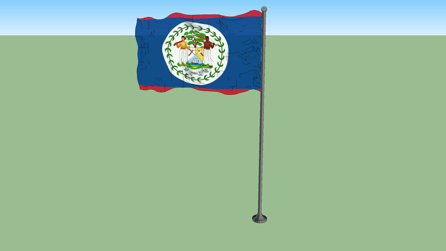 Flag of Belize