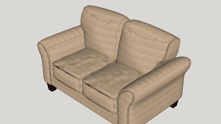 Serta Upholstery Franklin Loveseat