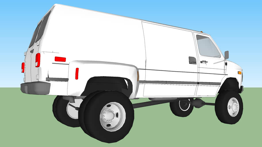 1990 Chevrolet G 30 Van 1Ton dually 4X4 Lifted