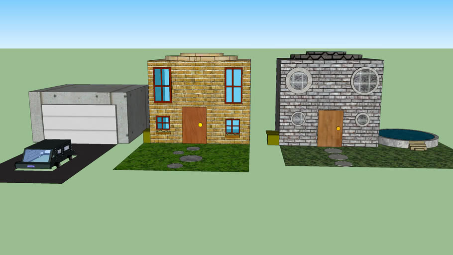 Nice Houses 3d Warehouse