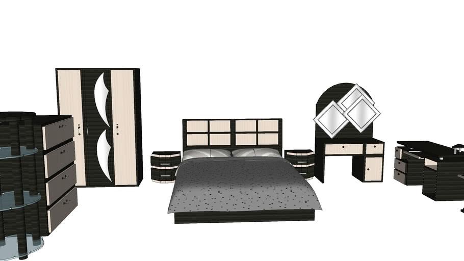 Bed room furniture set by shanjida
