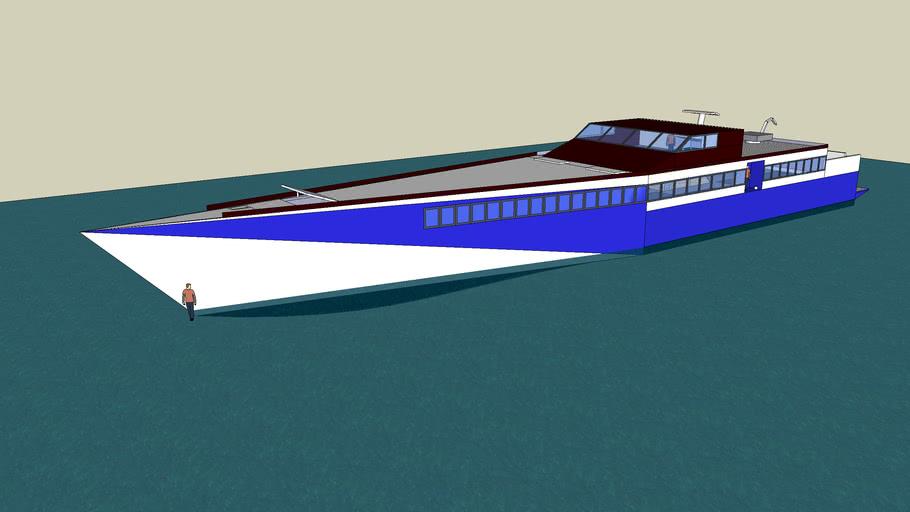 50m Monohull ferry
