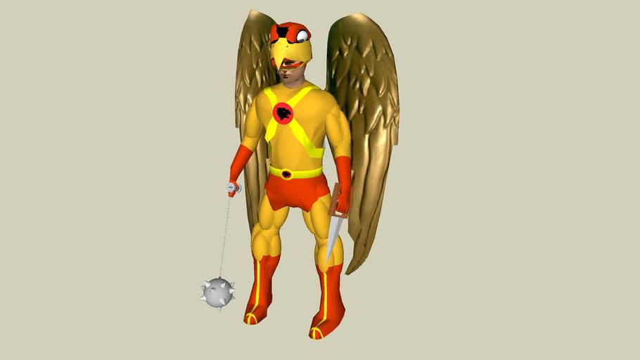 3D People - Hawkman