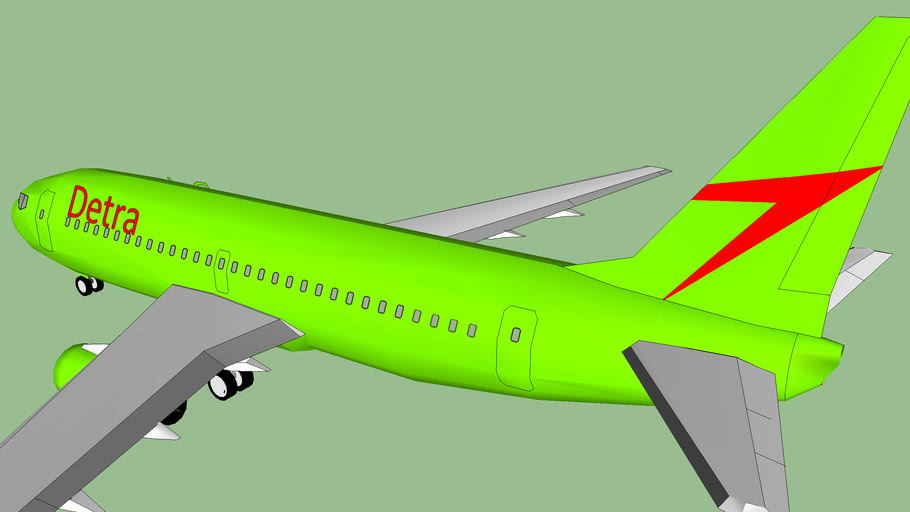 Detra Airlines 737 (fictional)