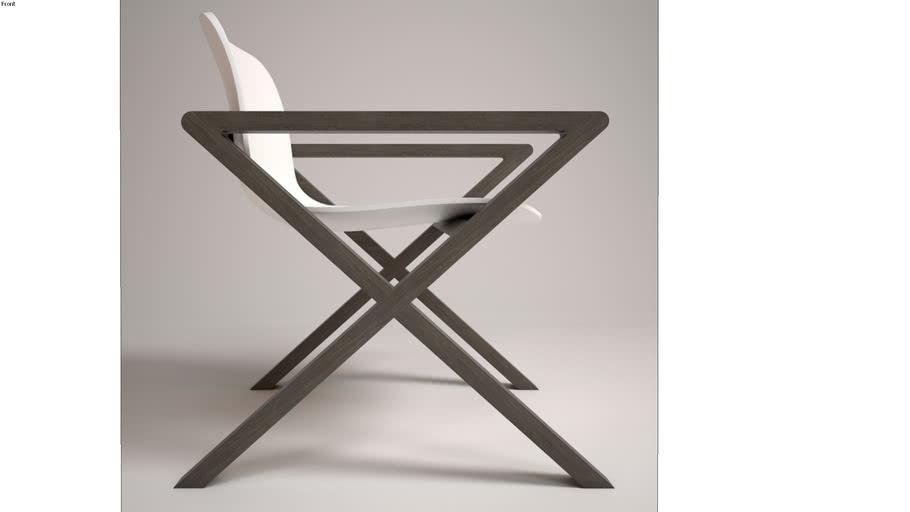 silla madera / wood chair modern