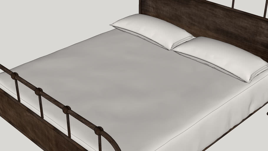 Lawrenceville Panel Bed