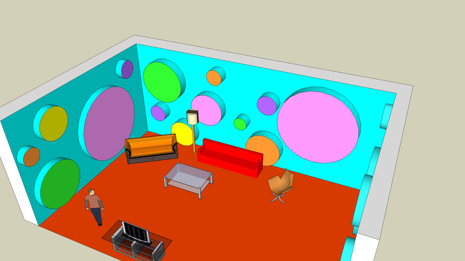 Friggin' Awesome Living Room