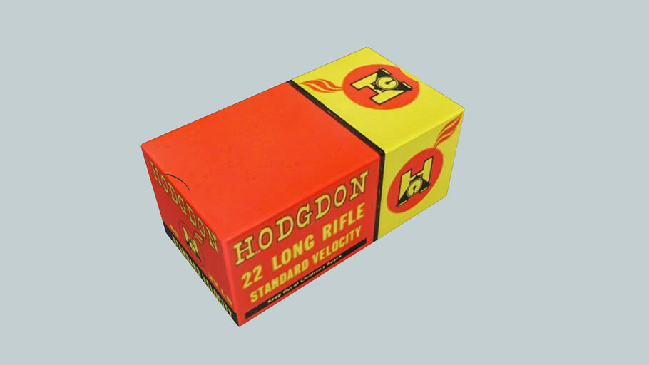 Hodgdon 22LR ammo box