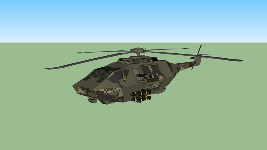 Macedonian War small Transport Helicopter