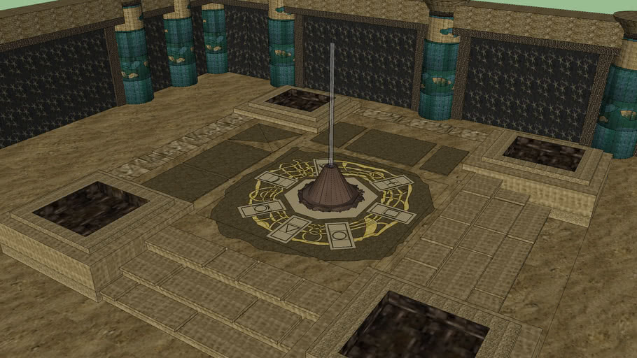Diablo II-Enter to Tal Rasha's Tomb