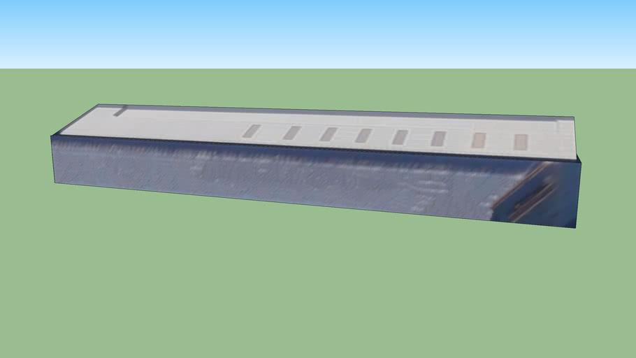 日本神奈川川崎的建筑模型