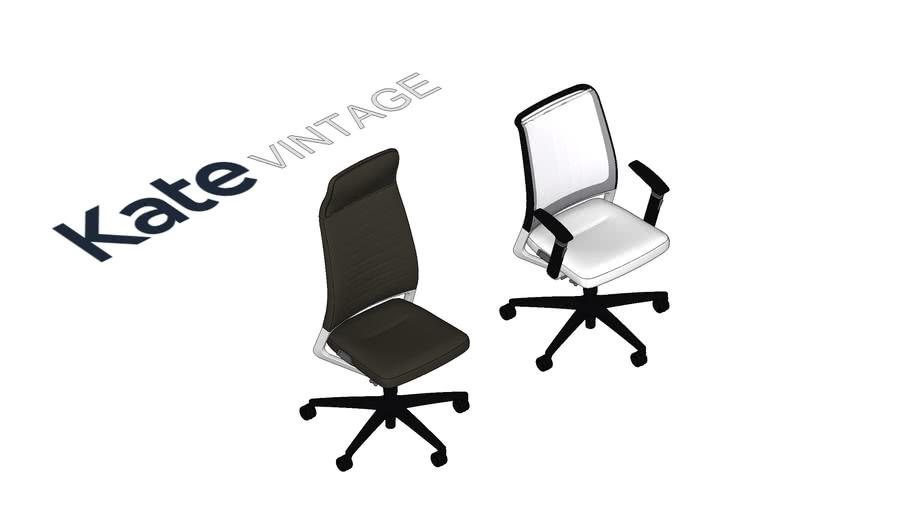 KATE VINTAGE darba krēsli