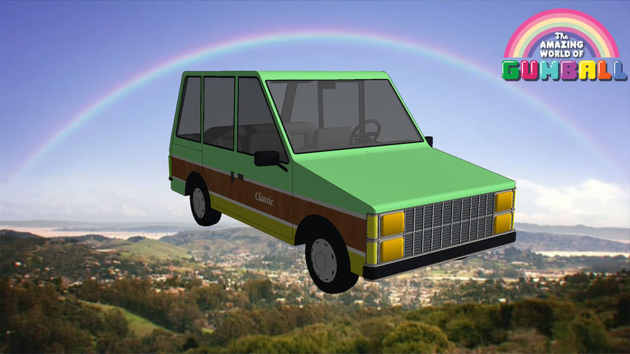 The Amazing World of Gumball  Minivan