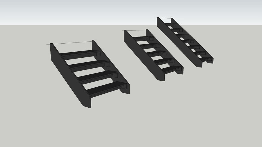 Treads for Steeldeck