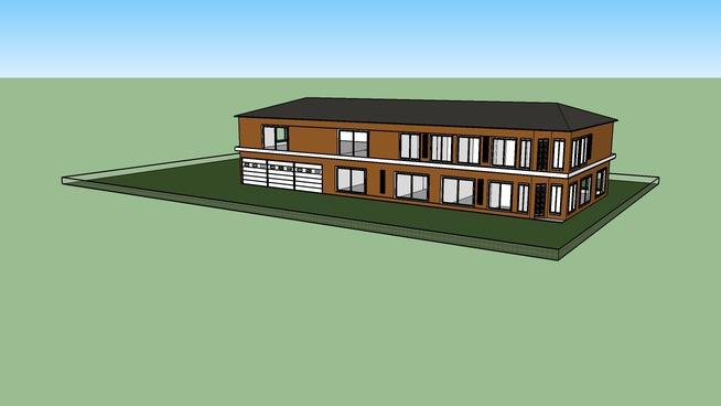 Modern Wood House
