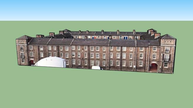 Building in Edinburgh EH3 8AY, UK