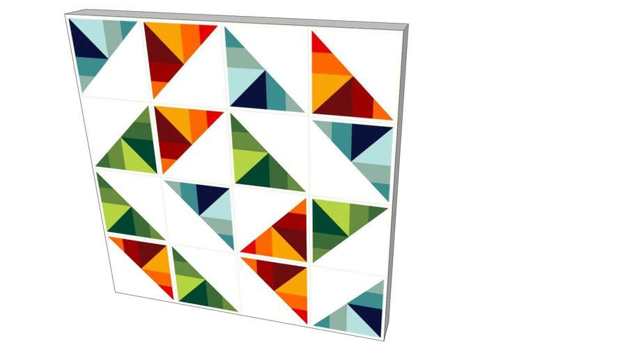 Quadro Alexandre Mancini - Série Artifícios Geométricos 07