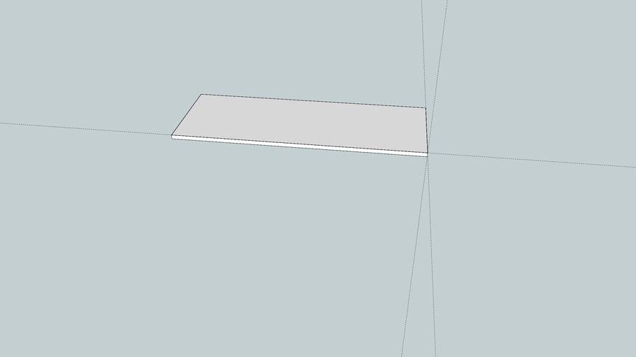 Benchtop model for sheet metal work