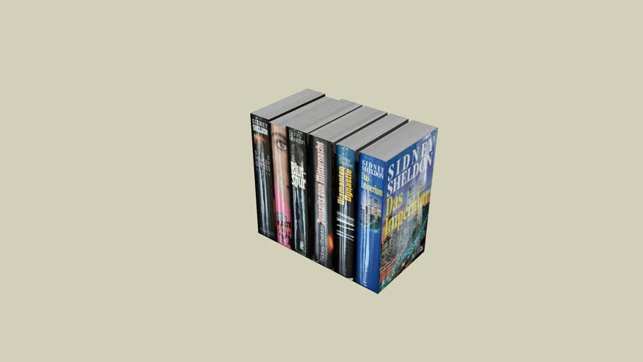 Bücher 10 (24x21,5x13cm)