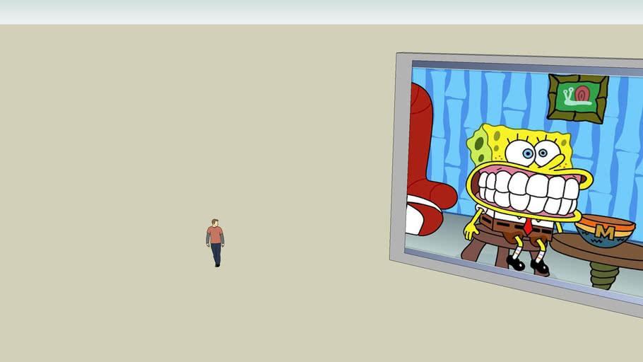 spongebob op TV