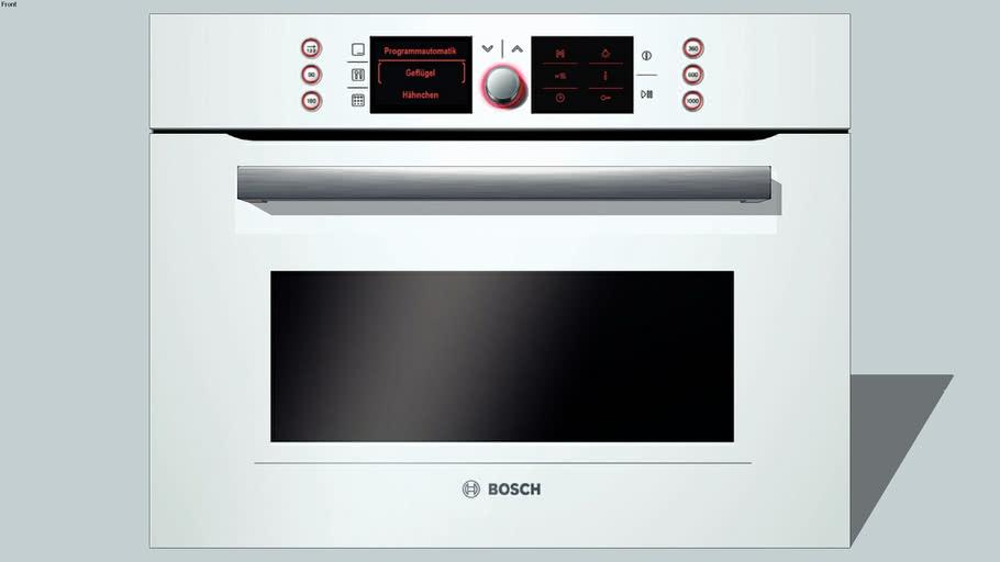 BOSCH, Gourmet oven HBC86P723  (45x60cm)- wit