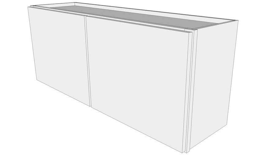 Glenwood Wall Cabinet W4518 12 Deep