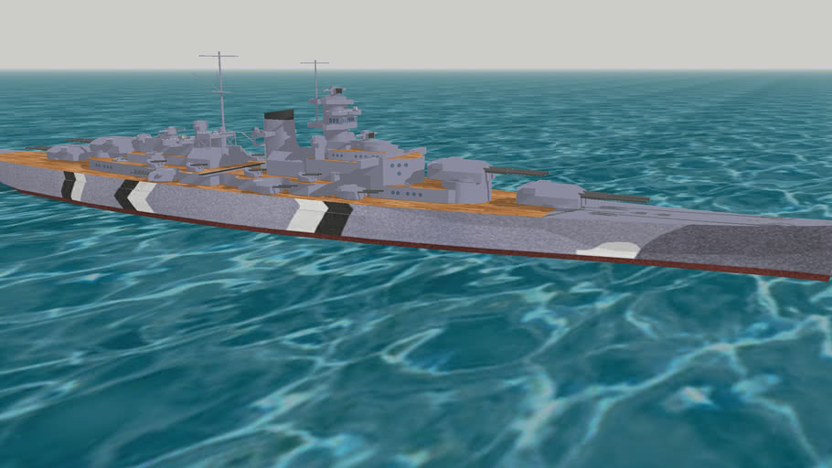 Battleship KMS BISMARK