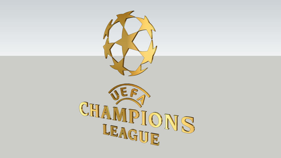 Logo Uefa Champions League 3d Warehouse
