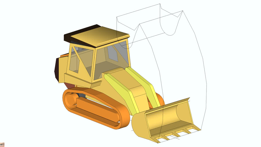 963D Track Loader Caterpillar