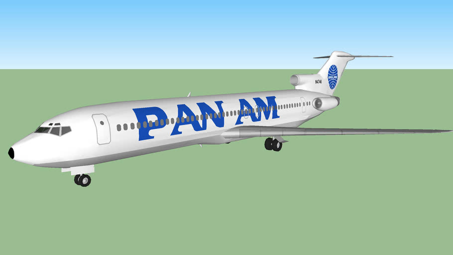"Pan Am 727-235 ""Clipper Intrepid"" (1989)"