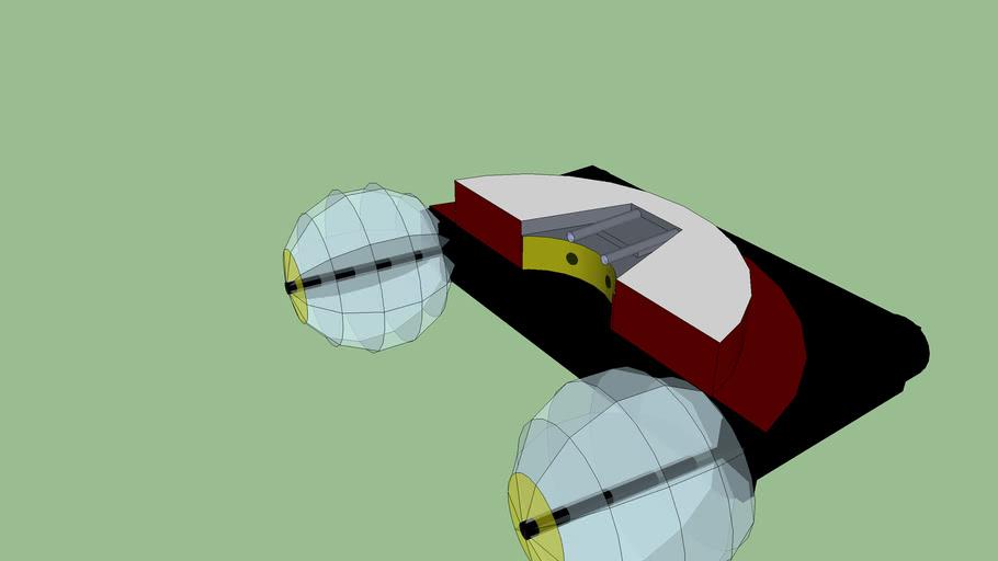 Main peice of space ship 1 Shereo-Mullar