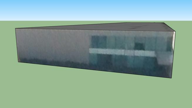 墨尔本港 维多利亚澳大利亚的建筑模型